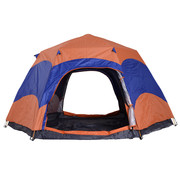 Sunny Sunny Tent Quick-Up 5 personen dubbele wand outdoor waterdicht incl. klamboe 280 x 280 x 170 cm