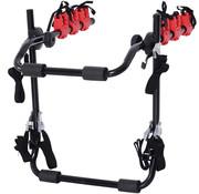 HOMCOM HOMCOM Fietsdrager voor 3 fietsen opvouwbaar