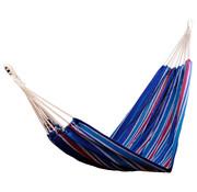 Outsunny Outsunny Hangmat voor meerdere personen 210 x 150cm tot 210kg blauw/rood