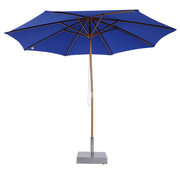 Outsunny Outsunny Parasol hout blauw 300 x 245cm