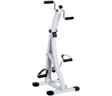 HOMdotCOM HOMdotCOM Hometrainer fietstrainer voor senioren wit