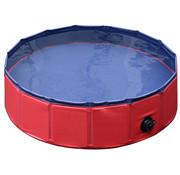 PawHut PawHut Hondenzwembad rood 160 x 30 cm