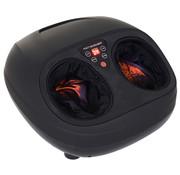 HOMCOM HOMCOM Voetmassageapparaat met warmtefunctie en instelbare intensiteit zwart 36 x 40 x 20cm