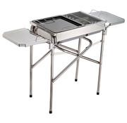 Sunny Sunny Houtskool grill BBQ RVS