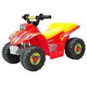 HOMdotCOM HOMdotCOM Elektrische kinderauto quad kids motorfiets rood