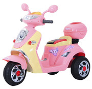 HOMCOM HOMCOM Elektrische kinderscooter - Roze