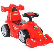 HOMCOM HOMCOM Loopauto Formule 1 met claxon rood