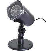 HOMCOM HOMCOM LED projector met 4 motieven