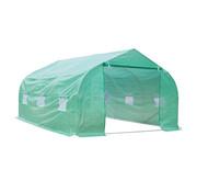 Outsunny Outsunny Tuinkas folie groen 4,5 x 3 x 2m