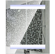 HOMCOM HOMCOM Spiegelkast met LED verlichting 60 x 50 x 15cm