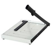 HOMdotCOM HOMdotCOM Papiersnijder metaal wit 48 x 26,5 x 5cm