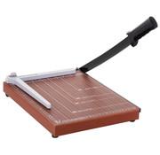 HOMdotCOM HOMdotCOM Papiersnijder metaal bruin 48 x 26,5 x 5cm