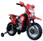 HOMdotCOM HOMdotCOM Elektrische kindermotor zwart/rood 3 tot 8 jaar