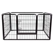 Paws Paws Afrastering voor Huisdieren - Binnen/Buiten - 125 x 80 x 70 cm