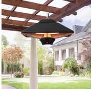 Outsunny Outsunny terrasverwarmer hangend 2000W met afstandsbediening en LED-verlichting
