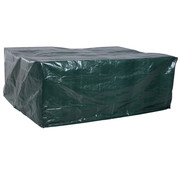 Outsunny Outsunny Tuinmeubel Beschermhoes waterdichte hoes UV-bescherming rechthoekig Groen 235 x 190 x 90 cm