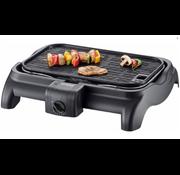 Severin Severin Elektrische Tafelgrill Barbecue zwart PG1525