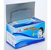 Generic Persoonlijk beschermingsmiddel - chirurgisch mondneusmasker -50 stuks - 175 x 90mm - Blauw