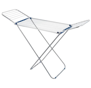 """Aigostar Vleugel wasstandaard """"Wings"""", zilver/blauw, 16 meter"""