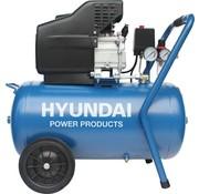 Hyundai Hyundai compressor 50 liter met vochtafscheider - 8 BAR - 67dB - 180 liter/minuut - 2PK - 1500W