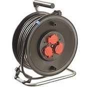 AS Schwabe AS Schwabe Kabelhaspel, 25 m rubberen kabel, 230 mm diameter