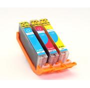 Compedo Geschikt voor Canon Compedo Printer cartridge CLI-551XL, multipack, 3 stuks