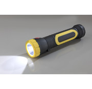 Wetelux Werklamp met 2 Watt COB en 1,5 Watt LED, met sterke magneet aan de onderzijde, uitklapbaar
