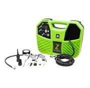 Zipper Zipper Draagbare koffercompressor ZI-COM2-8 - 8 bar - 1100W incl. accesoireskit