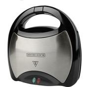 Black+Decker Black+Decker tosti-ijzer – RVS – non-stick – indicatielampje – 750W