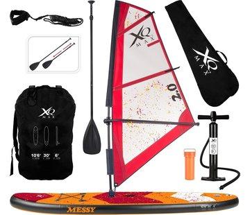 Wakiki Wakiki Windsurf/ Sup board 320 cm - Complete set - Oranje rood