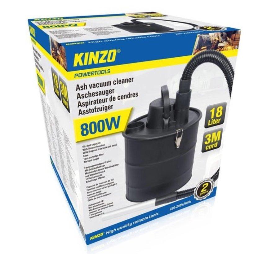 Kinzo Asstofzuiger - 18L - 800W