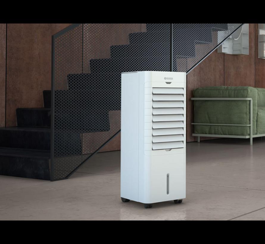 Olympia Splendid Peler 6C - Aircooler inc. timer en afstandsbediening 75 Watt 6 L max. 25 m²