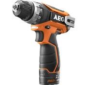 AEG AEG BS 12 C2 (2x2,0 Ah PRO Li) accu-comp. boor/schroefmachine