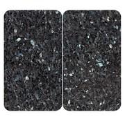 """Wenko Wenko Gasfornuis afdekbladen """"Labrador Blue Pearl"""",  granietlook"""