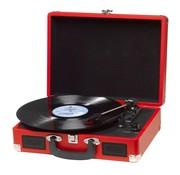 Denver Denver Retro USB-platenspeler VPL-120 in koffer, zwart met gratis koptelefoon