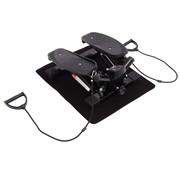 HOMCOM HOMCOM Mini fitness stepper voor hometraining incl. trainingsbanden