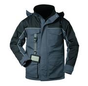 Elysee Elysee Herenparka met waterdichte coating grijs/zwart maat XL