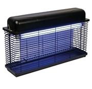 Perel Perel Elektrische insectenverdelger 2 x 15 watt vliegenlamp 100 m2 IPX4