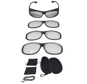 Generic Vergrootglasbril Magneto Edition 9-delige set luipaardpatroon