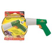 Florissa Florissa Ultrasoon pistool voor katten en honden, schrikmiddel, rood laserlicht, echografie schakelaar