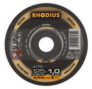 Rhodius Rhodius Doorslijpschijven Alpha Power, 10 x 70 XT Box, 125 mm