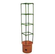 Bio Green Bio Green Plantenbak Growchampion met trellis terracotta