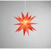 Star-Max Star-Max LED kunststof ster 35 cm rood
