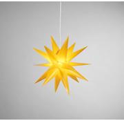 Star-Max Star-Max LED kunststof ster 35 cm wit