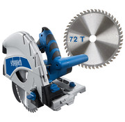 Scheppach Invalzaag PL75 - 210mm   1600W   Zaagblad 1x 36T + 1x 72T