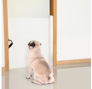 Paws Paws No Jump Deurhek traphek oprolbaar voor honden | dog fence| afsluithek huisdieren | 82 x 0-115cm