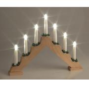Generic Houten kerstboog met LED verlichting