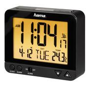 Hama Hama Wekkerradio met achtergrondverlichting en temperatuurweergave RC 550, 9,5 cm