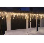 Generic LED ijspegel kerstverlichting met warm-witte LEDs 24 meter