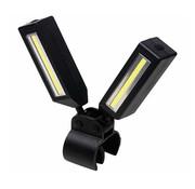 Wetelux Wetelux Werklamp 360 graden draaibaar met bevestigingsclip